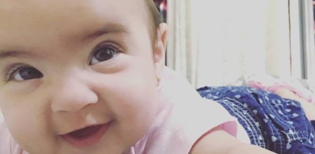 Mãe de Ana Lupia, que nasceu em abril, denuncia erro de hospital particular em Brasília - Arquivo Pessoal/Nathália Guimarães
