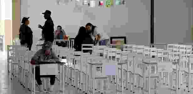 20.mai.18 - Local de votação em San Cristobal, Venezuela - George Castellanos/AFP - George Castellanos/AFP