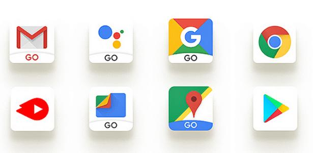 Apps do Google para Android Go - Divulgação