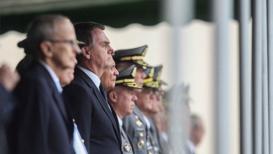 Oito dos 22 ministros de Bolsonaro são militares, a maior participação das Forças Armadas em um governo desde a redemocratização - Equipe de transição/Rafael Carvalho