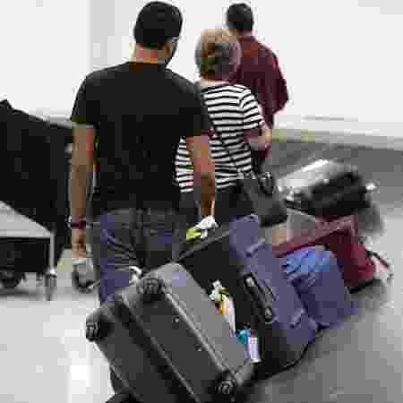 Bagagem aeroporto de Cumbica - Lucas Lima/UOL