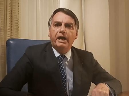 Presidente Jair Bolsonaro se defendeu de acusações sobre o caso Marielle através de suas redes sociais - Reprodução