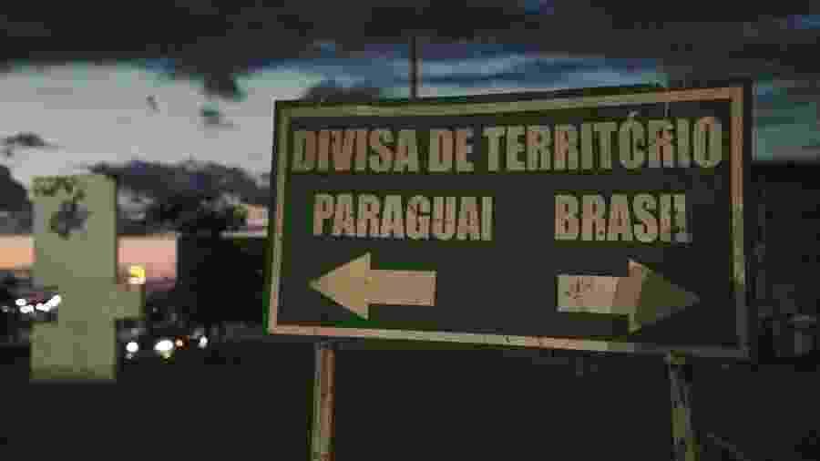 Fronteira entre Pedro Juan Caballero e Ponta Porã é uma das principais rotas de maconha utilizadas pelo PCC - Marina Garcia/UOL - 29.jan.2020