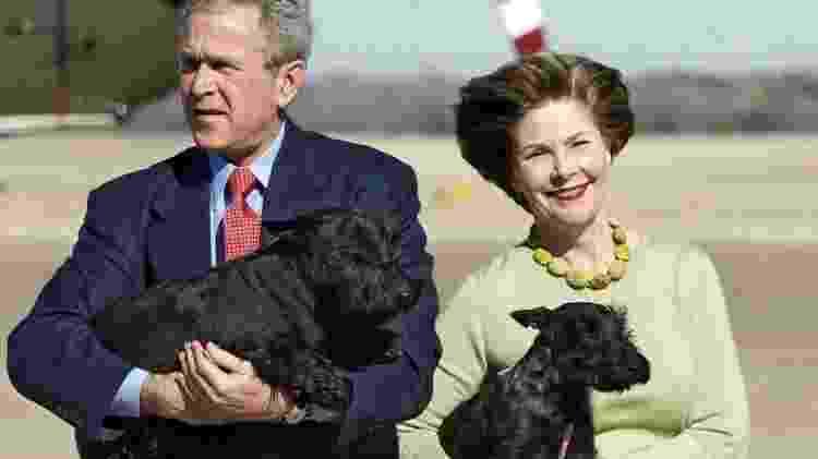 George W. Bush tinha diversos animais de estimação - Getty Images - Getty Images