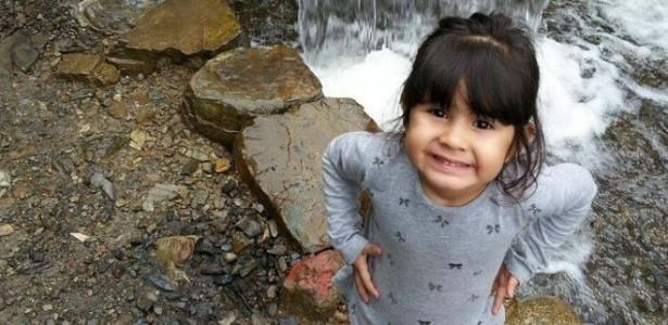 Tatiana Barreto, 3, morreu durante viagem que fez para visitar a mãe na Bolívia - Arquivo pessoal