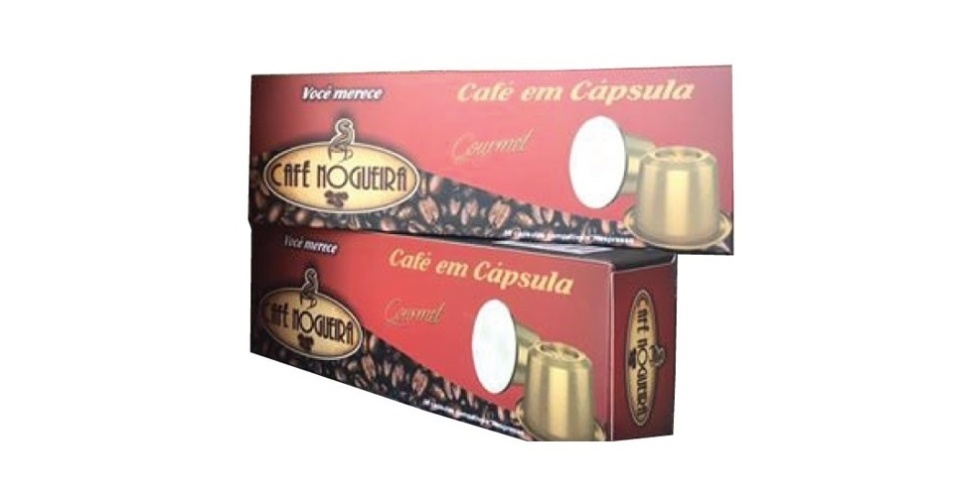 Café Nogueira - Blend Gourmet: R$ 15,90 ? caixa com 10 unidades- O frete gratuito acima de R$100 para entregas no estado de São Paulo e nas cidades de Belo Horizonte, Curitiba, Florianópolis e Rio de Janeiro