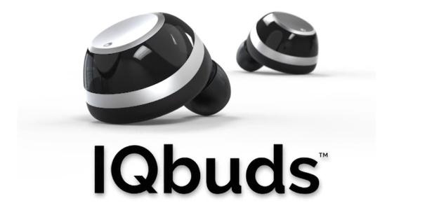 Fone de ouvido iQbuds, da Nuheara - Reprodução