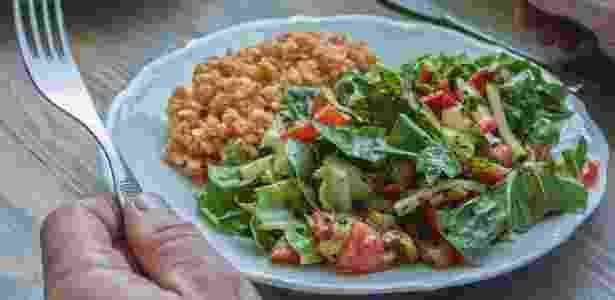 Prato de comida, prato de comida saudável, comida, refeição - Getty Images - Getty Images