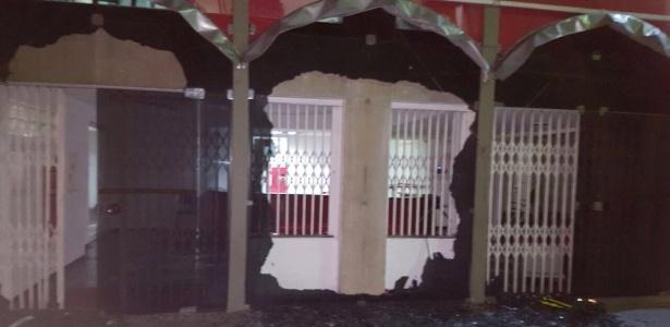 A sede do Diretório Nacional do PT, em SP, foi depredada na madrugada