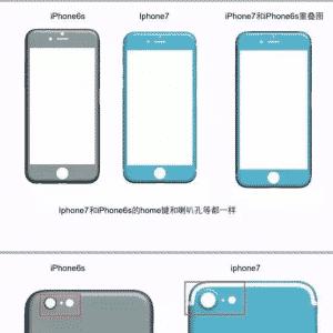 Imagem vazada do esquema de suposto iPhone 7 mostra câmera traseira com lente maior e linhas brancas de antena em nova posição, nas bordas das partes superior e inferior do corpo do celular. A Apple não confirma a veracidade da imagem - Reprodução