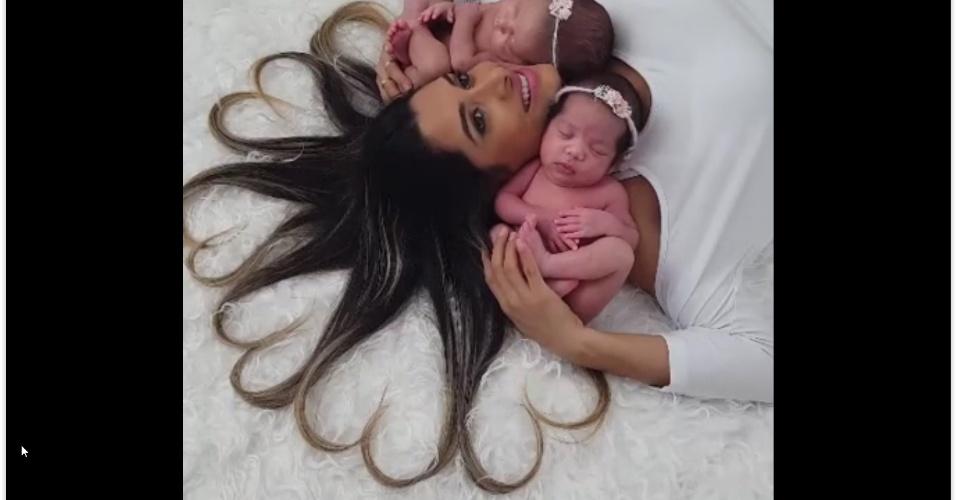 Como 2016 também foi o ano em que o Facebook Live surgiu, o Facebook compartilhou pela primeira vez a lista dos vídeos ao vivo brasileiros mais assistidos. O segundo lugar é um making of da empresa Vicentini Fotografias de um ensaio de fotos com uma mãe e dois bebês, com mais de 9,5 milhões de visualizações