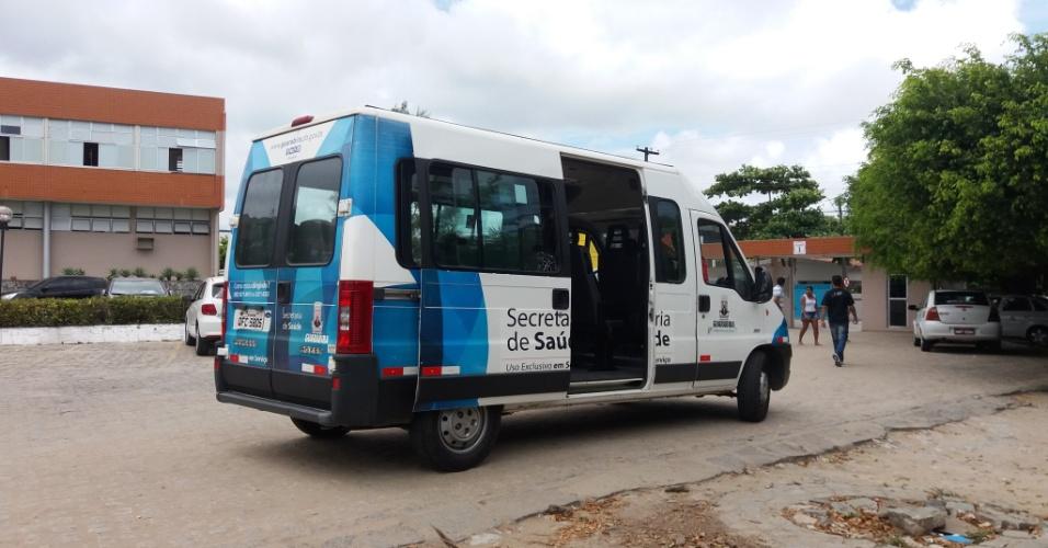 O embarque dos pacientes para retorno aos municípios origem costuma acontecer por volta do meio dia