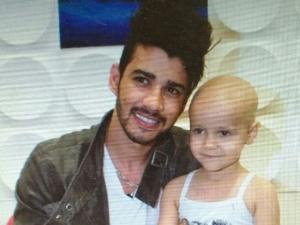 Resultado de imagem para Bia com o cantor Gusttavo Lima. Ela teve recuperação rápida de um linfoma.