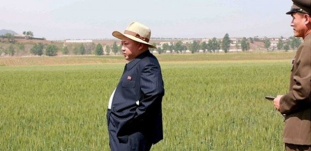 Líder norte-coreano Kim Jong-un; Estado ainda controla a produção agrícola, mas implementou reformas