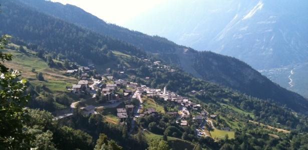 O vilarejo suíço de Albinen tem uma paisagem fantástica - e um problema populacional - Xenos/Creative Commons
