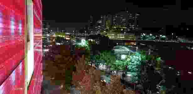 Foto com a câmera do Galaxy S9+ à noite - Gabriel Francisco Ribeiro/UOL