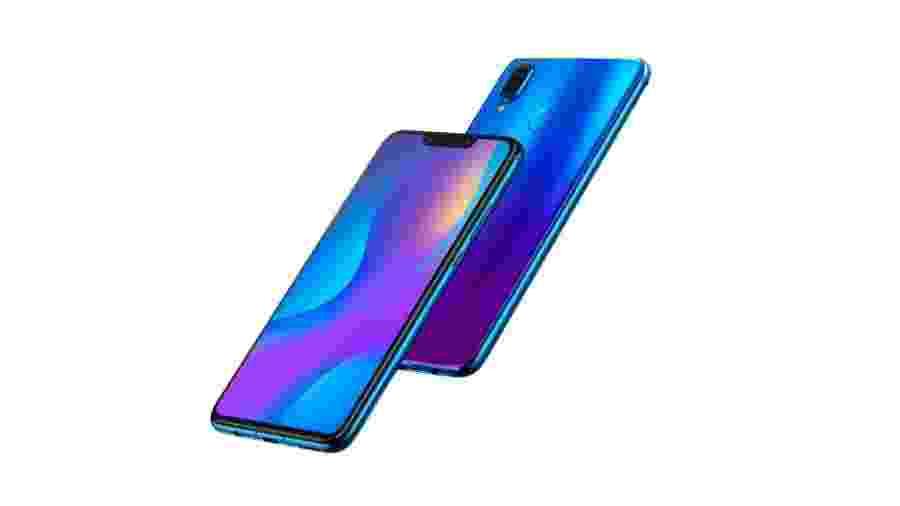 Nova 3i, smartphone intermediário da chinesa Huawei  - Divulgação