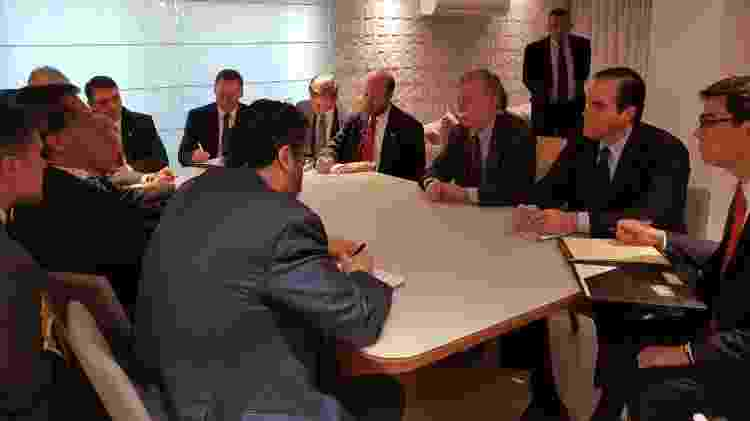 Reunião entre Trump e Bolton tratou de comércio e segurança - Divulgação