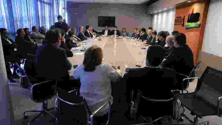 Reunião da bancada do MDB para discutir a eleição para a Mesa Diretora da Câmara - Cleia Viana/Vice-presidência da Câmara