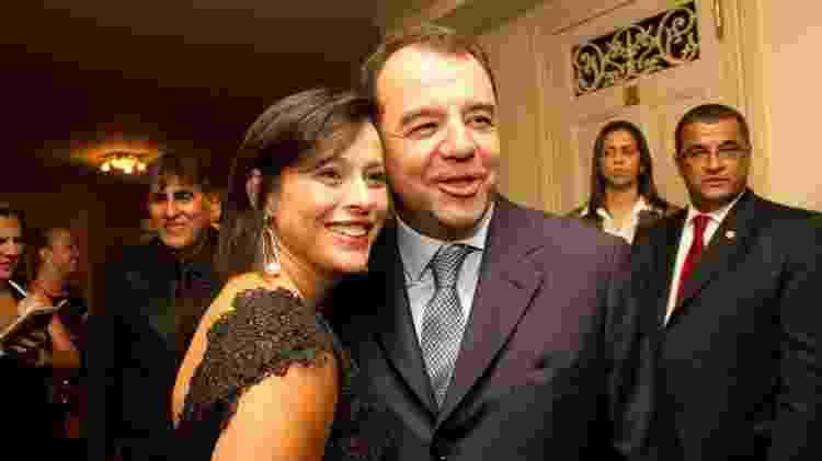 26.abr.11 - Adriana Ancelmo e Sérgio Cabral, ex-governador do Rio - Paula Giolito/Folhapress - Paula Giolito/Folhapress