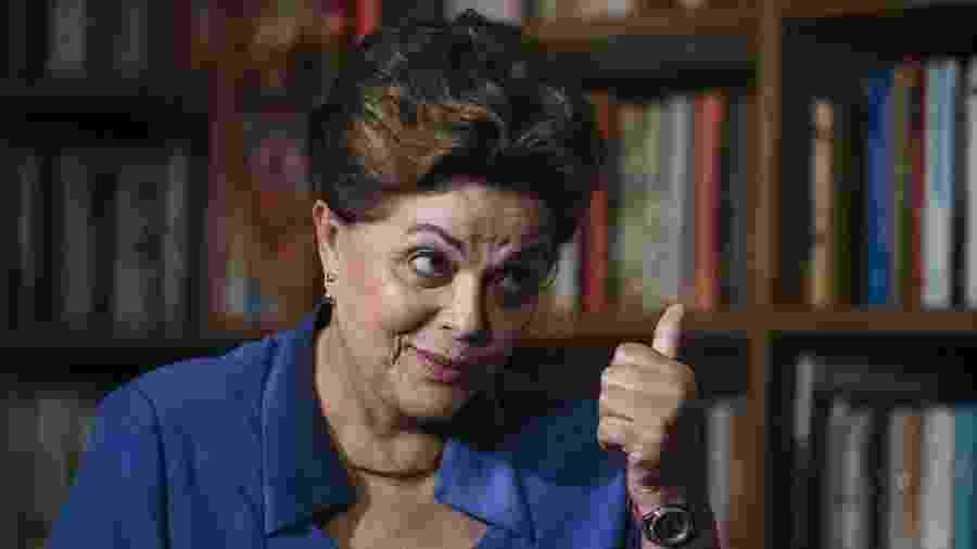 A ex-presidente Dilma Rousseff - Lucas Lima/UOL/Folhapress