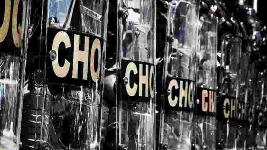 PM foi preso por investigar Batalhão de Choque no ano passado, segundo jornal - Divulgação/ BpChoque/ PMERJ