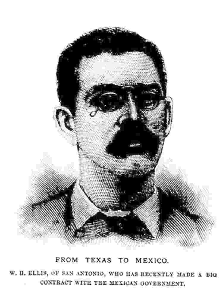 Retrato de William Ellis no fim da década de 1880 - CORTESIA KARL JACOBY - CORTESIA KARL JACOBY