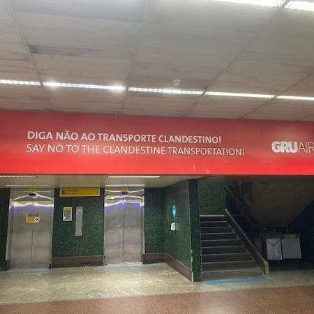 Alerta no Aeroporto de Guarulhos - Tudo Golpe
