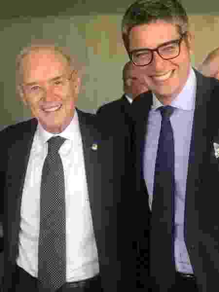 Arolde de Oliveira e Carlos Portinho (ambos do PSD) - Reprodução/Redes sociais