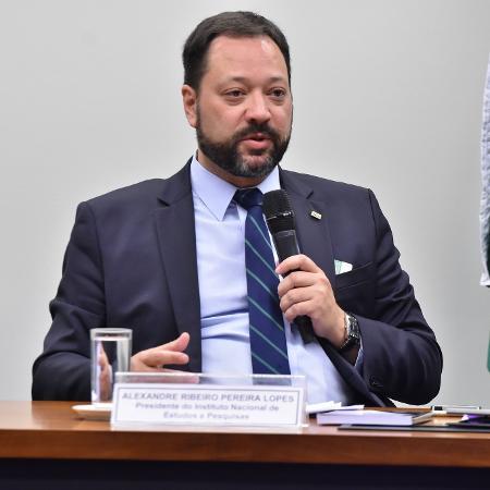 O presidente do Inep, Alexandre Lopes - Reila Maria/Acervo Câmara dos Deputados