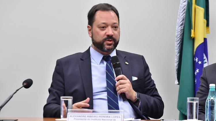 O presidente do Inep, Alexandre Lopes - Reila Maria/Acervo Câmara dos Deputados - Reila Maria/Acervo Câmara dos Deputados