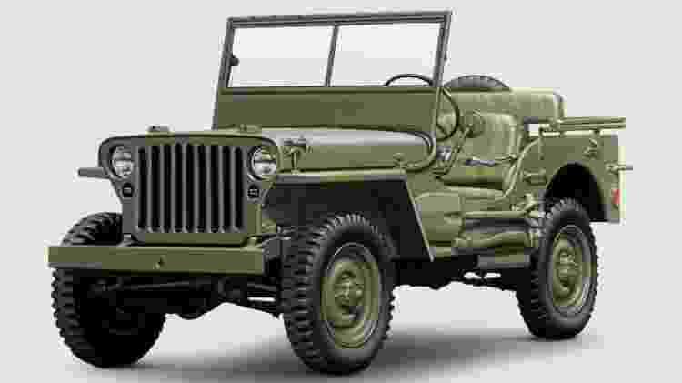 Willys MB 1941 - Divulgação  - Divulgação