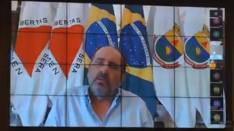 Alexandre Kalil, prefeito de Belo Horizonte, em sessão da Câmara Municipal - Reprodução