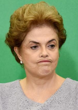 A presidente Dilma Rousseff - Evaristo Sá/AFP