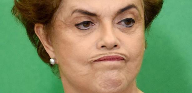 A presidente Dilma Rousseff tenta evitar o desembarque do PMDB como aliado