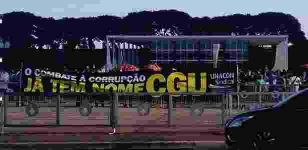 Protesto CGU - Leandro Prazeres - 30.mai.2016/UOL - Leandro Prazeres - 30.mai.2016/UOL
