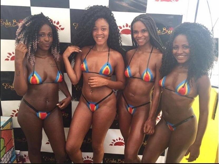 O grupo de funk Bonde das Maravilhas está entre as clientes famosas da Erika Martins, mais conhecida como Erika Bronze