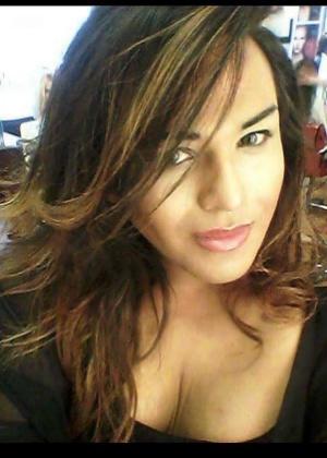 A transexual brasileira Adriana
