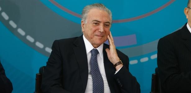 O presidente Michel Temer (PMDB)