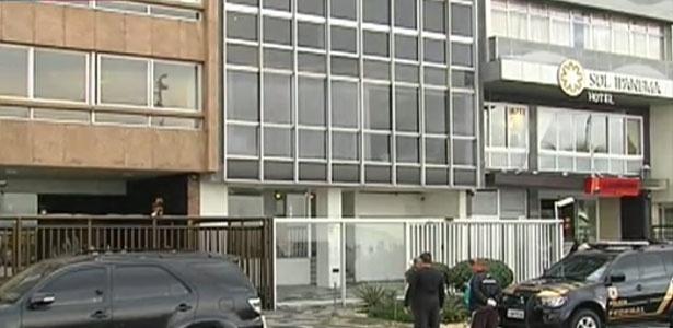 Equipes da Polícia Federal foram ao apartamento do senador Aécio Neves (PSDB-MG) no Rio de Janeiro