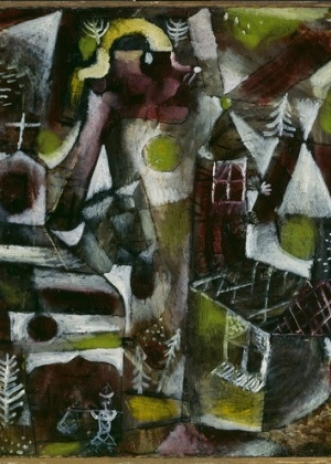 Swamp Legend, obra de Paul Klee