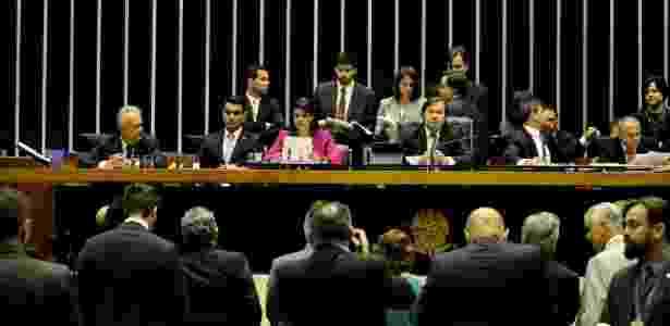 26.set.2017 - A segunda denúncia apresentada pela PGR contra Temer é lida no plenário da Câmara  - RENATO COSTA/FRAMEPHOTO/FRAMEPHOTO/ESTADÃO CONTEÚDO
