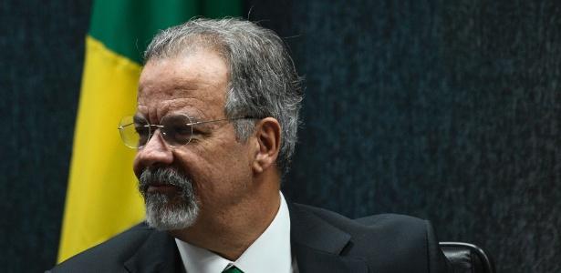 O ministro da Segurança, Raul Jungmann, durante cerimônia do Cadastro Nacional de Presos - Mateus Bonomi/ Estadão Conteúdo