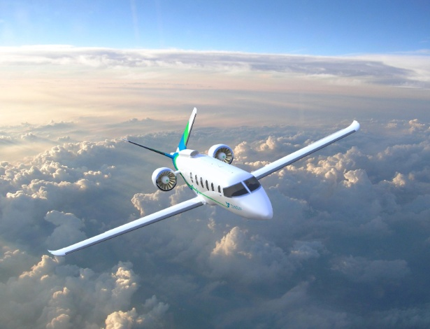 Imagem do projeto da Zunum Aero de avião elétrico híbrido de 12 lugares