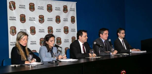 Entrevista coletiva da PF e MP sobre operação Pedra no Camino - Newton Menezes/FuturaPress/Estadão Conteúdo