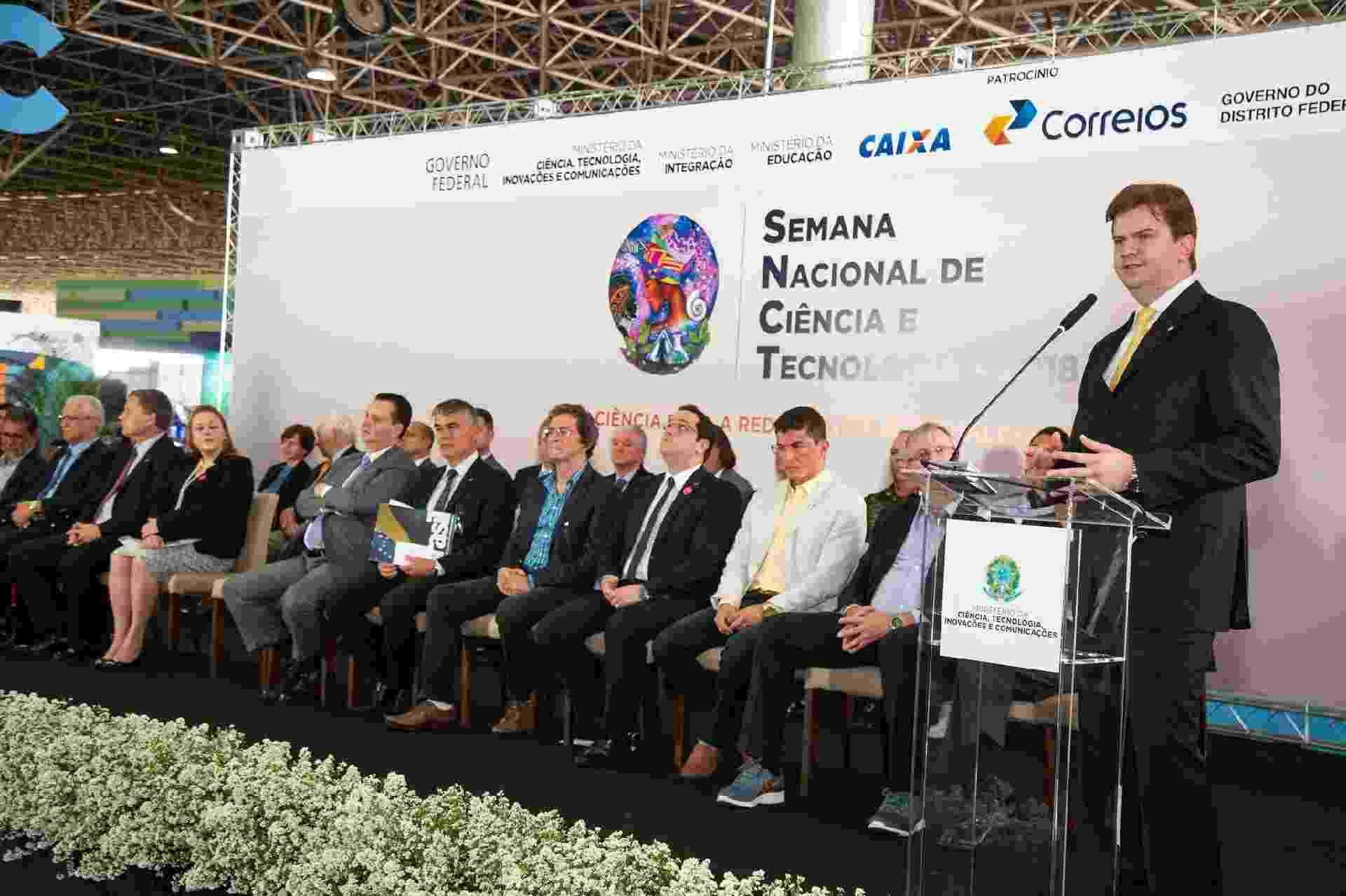 Gustavo Henrique Rigodanzo Canuto, futuro ministro do Desenvolvimento Regional, participa de evento - Ed Ferreira/Ministério da Integração