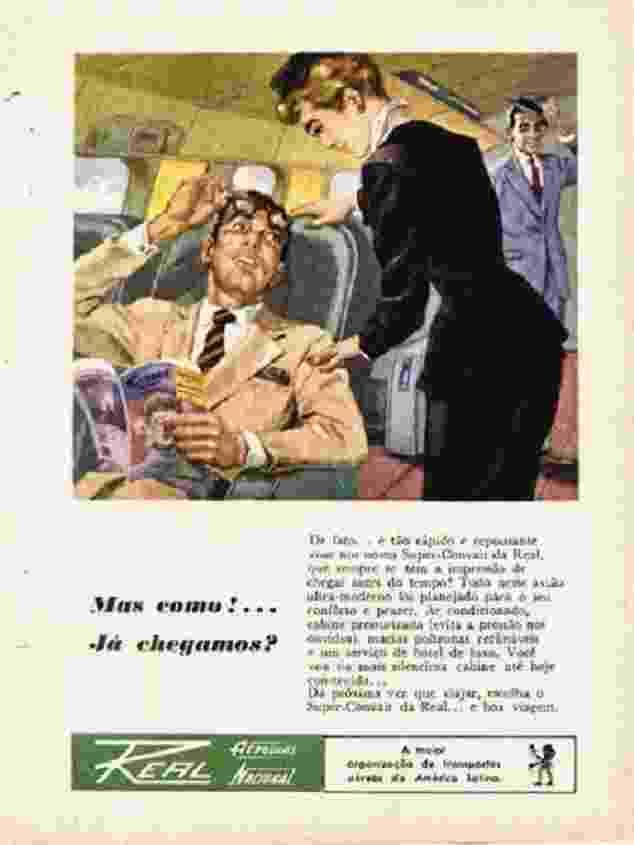 Real Convair propaganda antiga - Reprodução