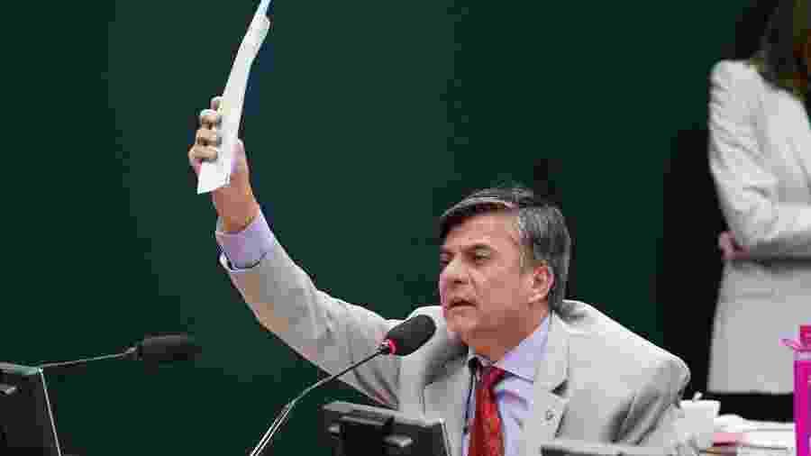 18.jun.2019 - O deputado Boca Aberta (Pros-PR)  - Pablo Valadares/Câmara dos Deputados