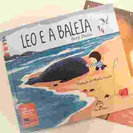"""""""Leo e a Baleia"""" e """"O Tupi que Você Fala"""" são os livros que serão doados em iniciativa do Itaú - Divulgação"""