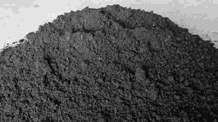 Petróleo retirado das praias na Bahia é transformado em carvão - Divulgação/UFBA